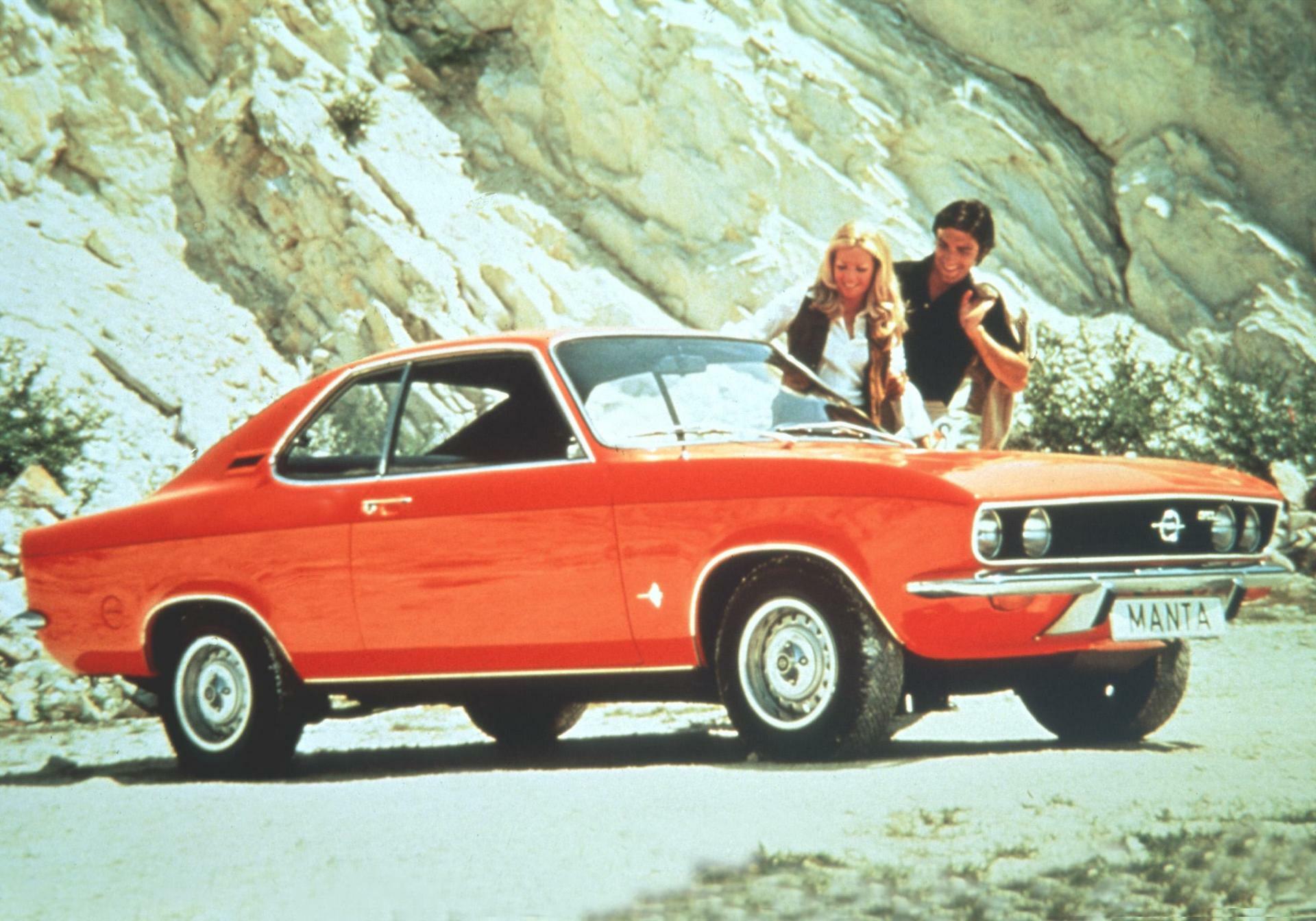 Autohersteller Opel Denkt über Neuen Manta Nach
