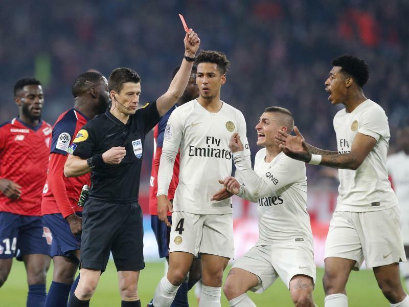 Tuchel mit PSG nach 1:5 in Lille immer noch nicht Meister