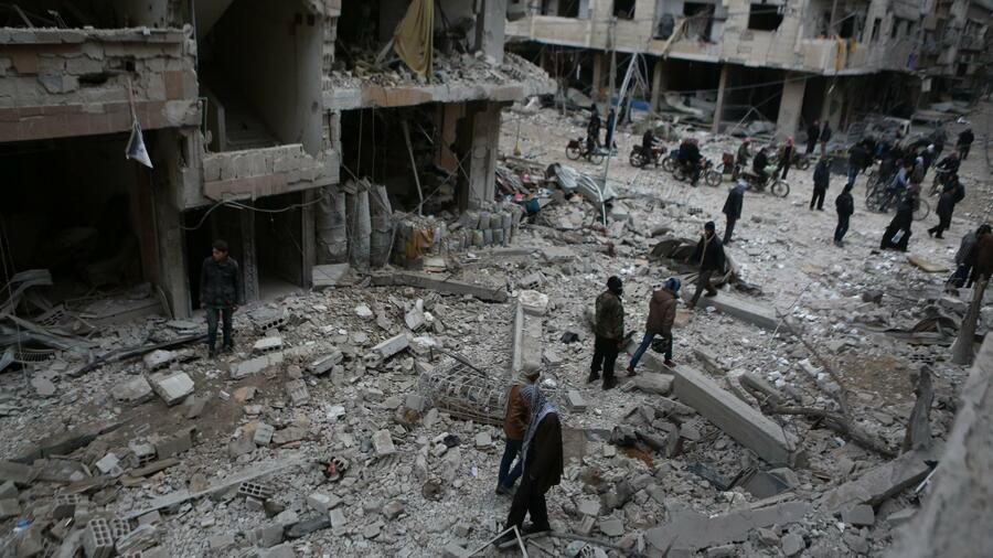 Chemiewaffen-Inspekteure beginnen Tests in Douma