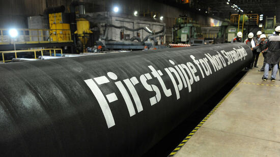 Ostsee-Pipeline Nord Stream 2