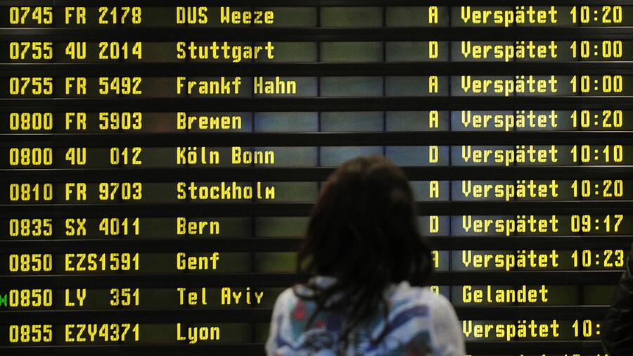 Flughafen-Vergleich In diesem Ranking ist Berlin-Tegel Spitzenreiter