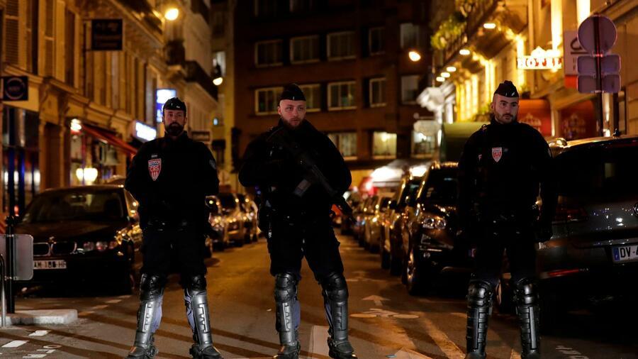 Der Täter des Messerangriffs wurde von der Polizei erschossen. Quelle AFP