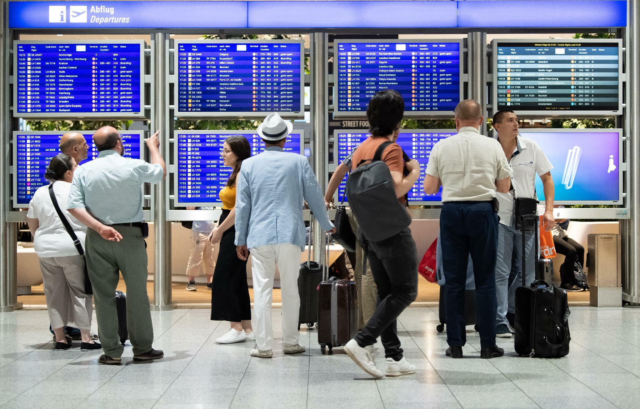 Flugverkehr in Frankfurt wächst im September langsamer