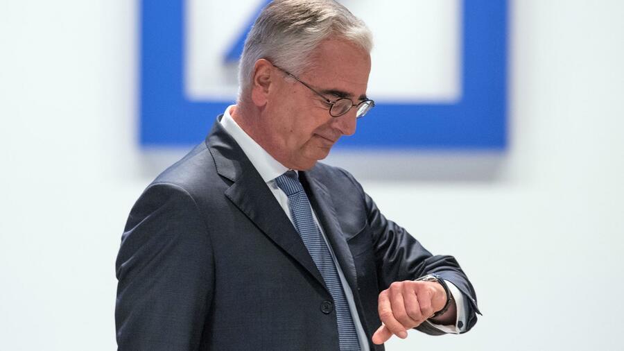 Deutsche Bank Für Paul Achleitner Wird Es Gefährlich