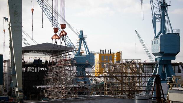 Hamburger Werft Pella Sietas kündigt Insolvenzantrag an