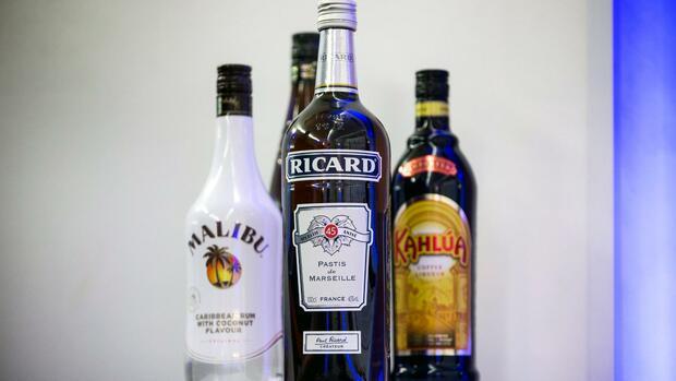 Pernod Ricard verkauft mehr Alkoholika