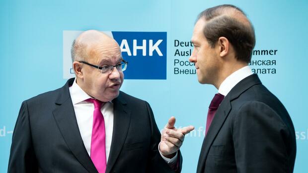 DIHK-Konferenz: Wirtschaftsminister Altmaier sieht wachsende Investitionsbereitschaft in Russland