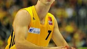 Philip Zwiener von Alba Berlin. Foto: Bongarts/Getty Images Quelle: SID
