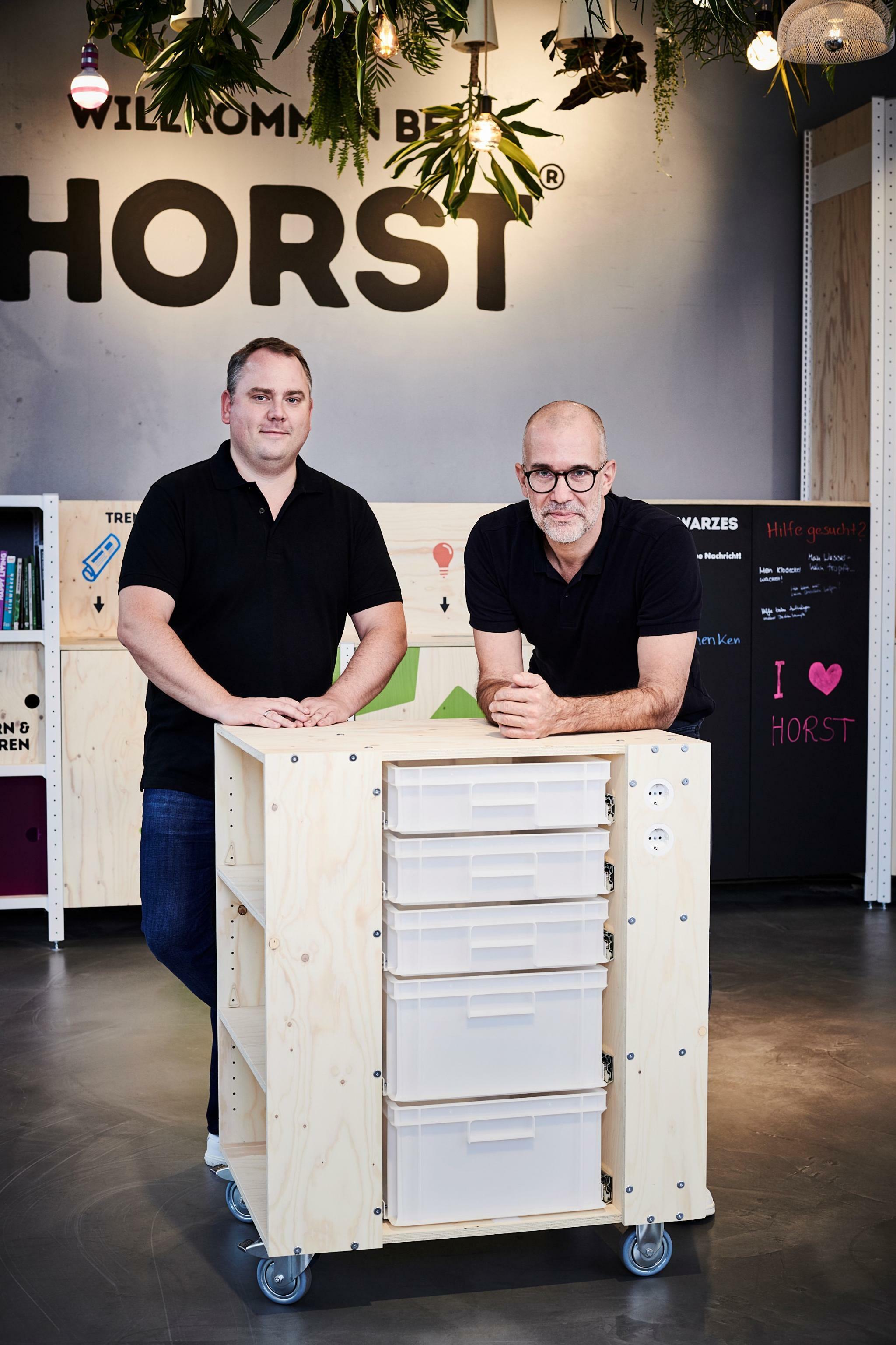 11ef1f99bb Horst: Zwei Gründer eröffnen den Baumarkt der urbanen Zukunft