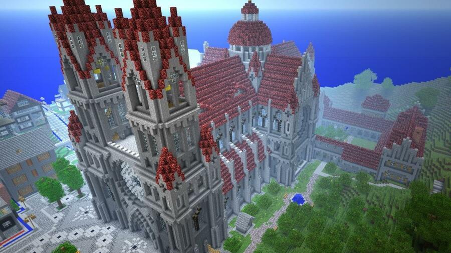Computerspiel Minecraft