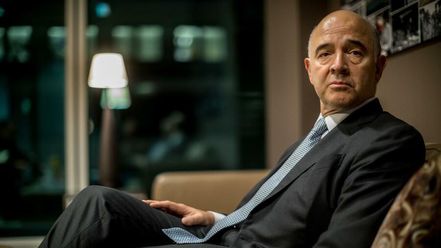 Konjunktur: EU-Kommissar Moscovici zuversichtlich für Griechenlands Finanzen