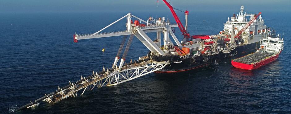 Gazprom schafft im Streit um Nord Stream 2 Fakten in der Ostsee