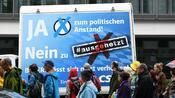 """""""Ausgehetzt"""": Zehntausende demonstrieren in München gegen CSU-Politik"""