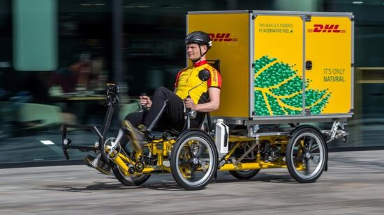 Post-Tochter DHL testet sogenannte Cubicycles