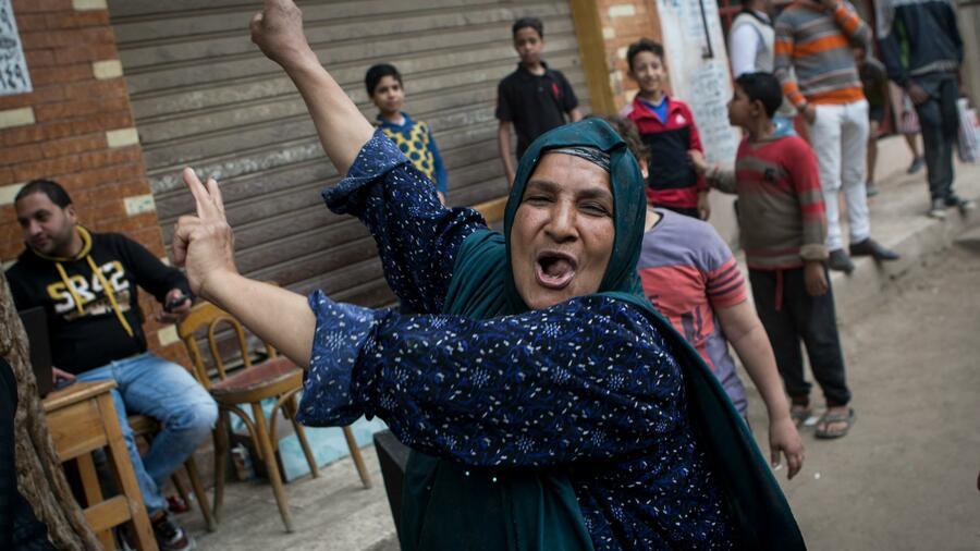 Ägyptens Präsident Al-Sissi sichert sich zweite Amtszeit