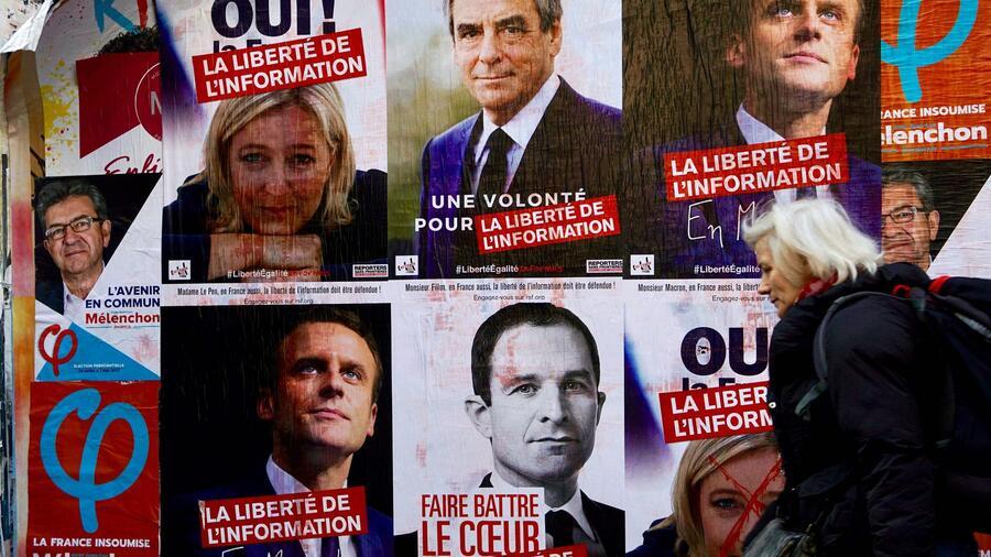 präsidentschaftswahl frankreich 2017 umfrage
