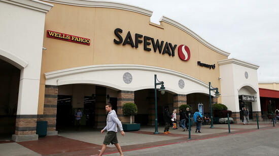 Milliarden-Deal: Cerberus kauft die US-Supermarktkette Safeway. Quelle: AFP