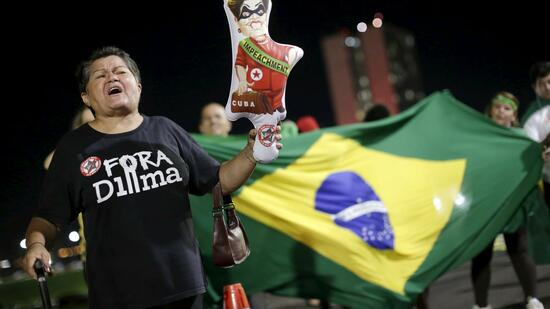 Protest in Brasilien