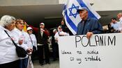 Streit um Äußerungen zum Holocaust: Hakenkreuz-Schmierereien an polnischer Botschaft in Tel Aviv