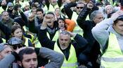"""Protestbewegung: Massives Polizeiaufgebot bei """"Gelbwesten""""-Protest in Frankreich"""