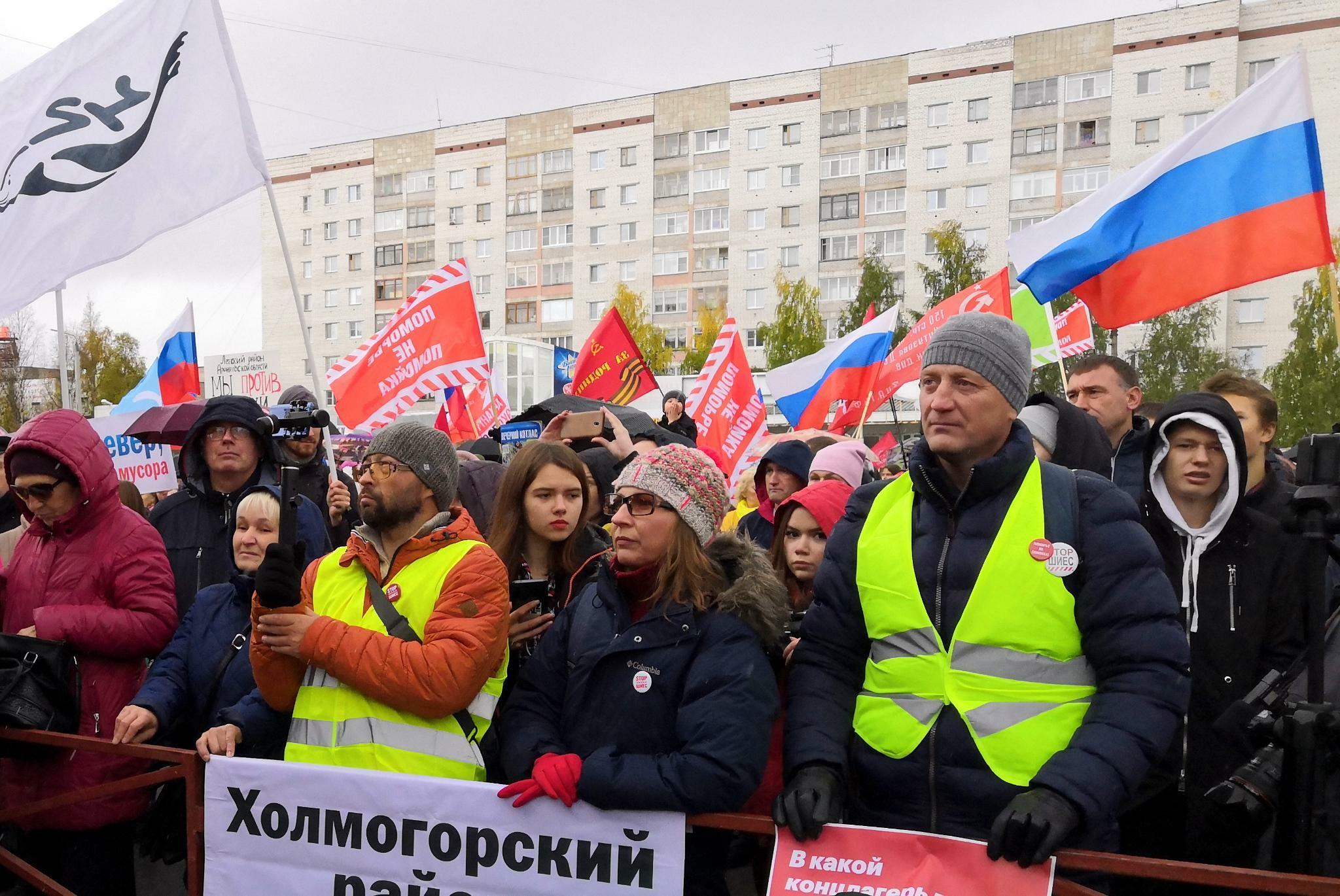 Entsorgungsproblem: Moskaus Abfallreform spaltet das Land
