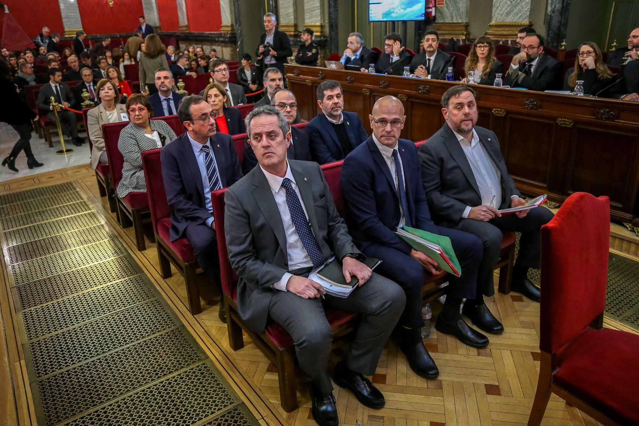 Kataloniens Separatistenführer wegen Aufruhrs schuldig gesprochen