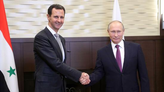 Putin erwartet baldiges Kriegsende in Syrien