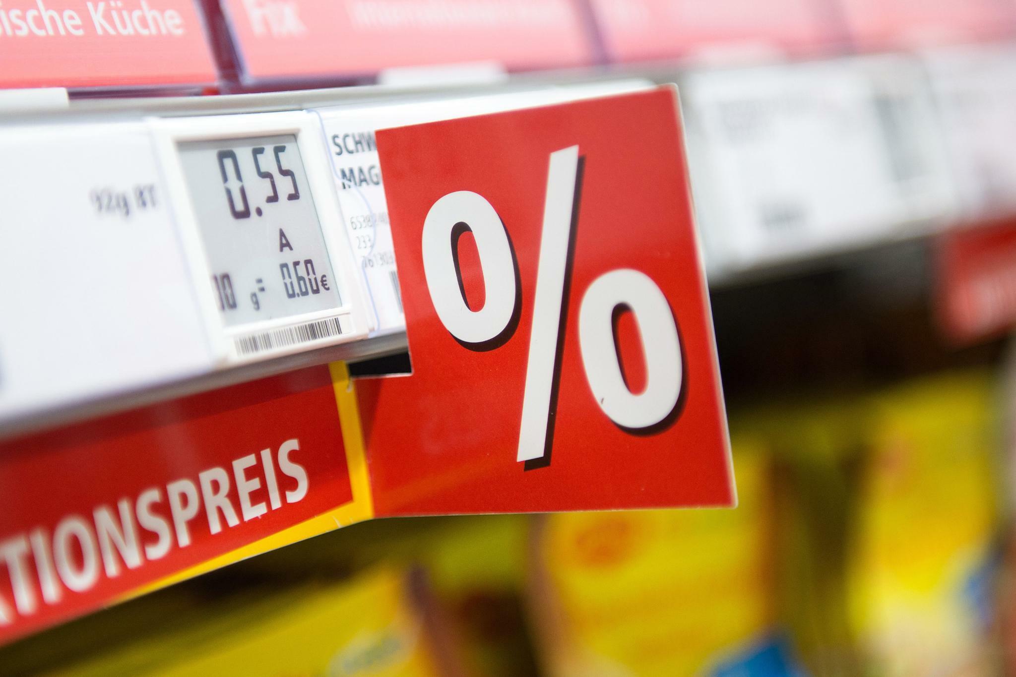 Inflation in der Eurozone fällt auf Dreijahrestief