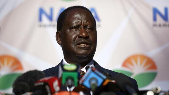 Kenias Oppositionsführer will Wahl vor Gericht anfechten
