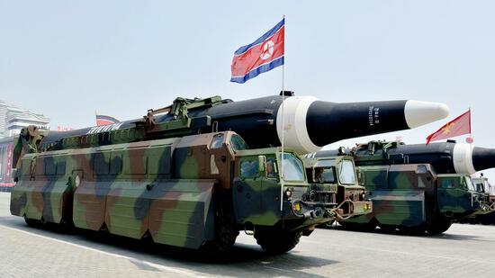 Südkoreanische Armee beschießt ein Flugobjekt aus Nordkorea
