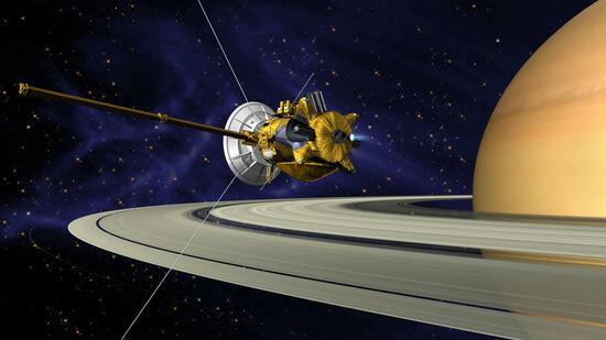 Raumsonde Cassini: Großes Finale am Saturn