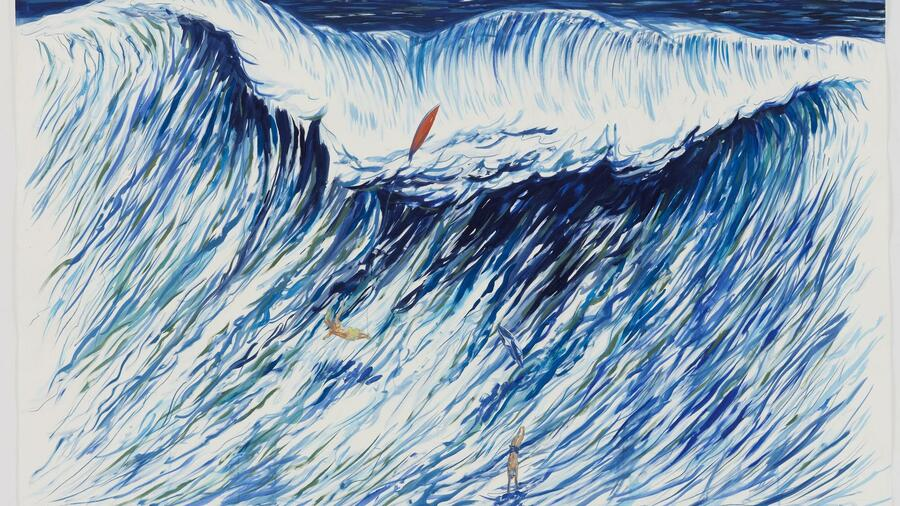 Raymond Pettibon, No Title (From life to) kostete 760.000 Dollar. Quelle: Galerie David Zwirner