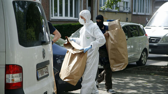 Nach gescheitertem Anschlag in Brüssel: vier Menschen festgenommen