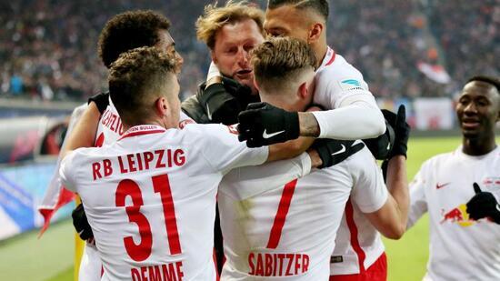 RB Leipzig gewann das Topspiel gegen die TSG 1899 Hoffenheim. Foto ...