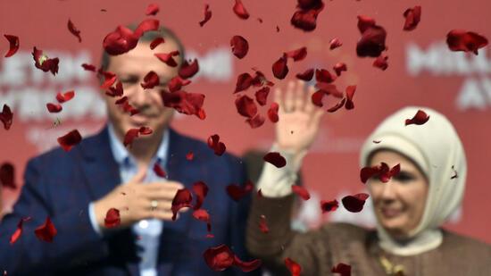 Erdogan beantragt Auftritt in Deutschland