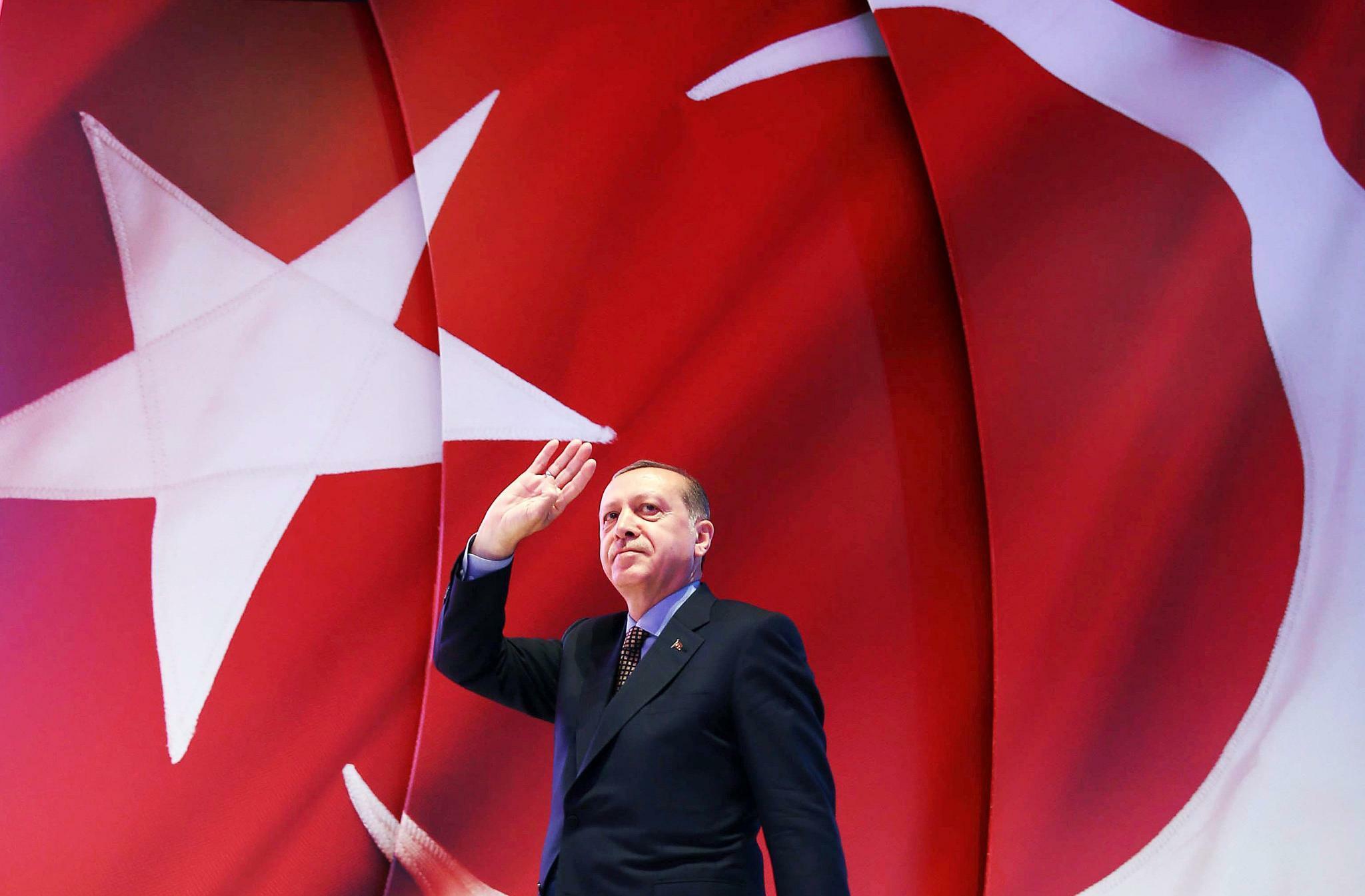 Erdogan stellt sich gegen den Rest der Welt