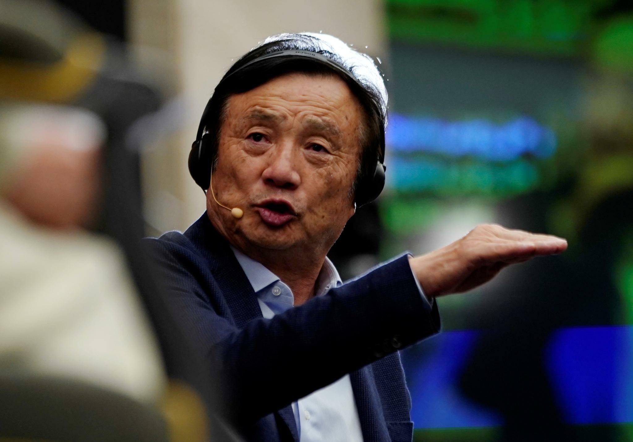 Huawei-Gründer Ren Zhengfei erwartet anhaltenden Sanktionsdruck