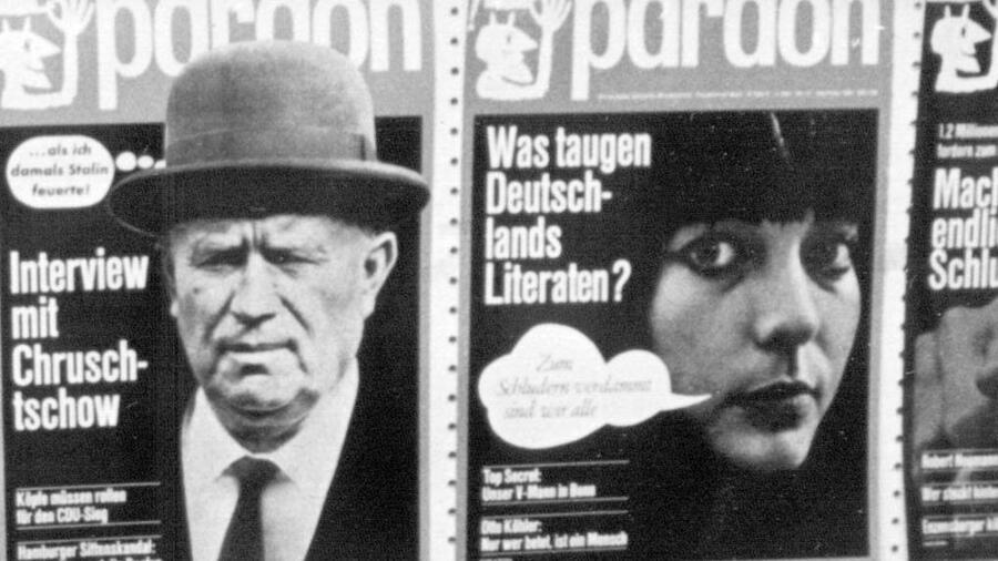 Satire Magazin Pardon Startet Neu Wir Sind Der Eisberg