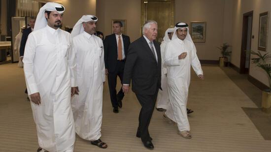 Tillerson sieht Signale für Gesprächsbereitschaft in Katar-Krise
