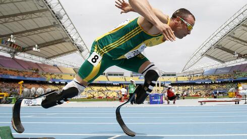 Behindertensportler Oscar Pistorius: Im paralympischen Sport steht die Kommerzialisierung erst am Anfang. Quelle: REUTERS