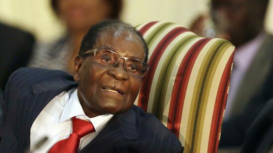 Mugabe kurzzeitig Sonderbotschafter der WHO