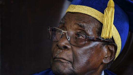 Robert Mugabe als Präsident zurückgetreten