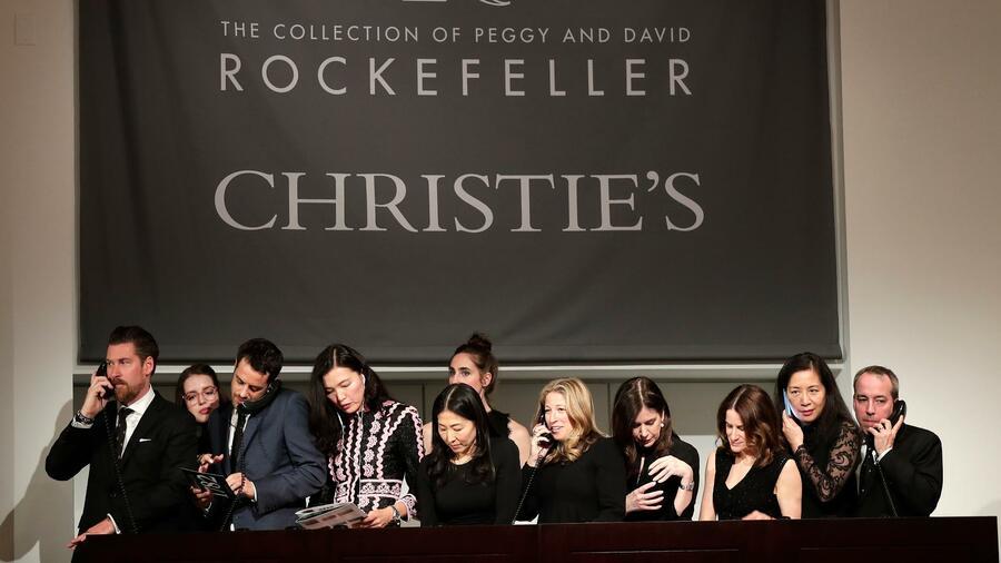 Rekorderlöse bei Versteigerung von Rockefeller-Nachlass