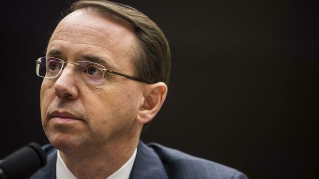 Belästigungsvorwürfe: Vize-Justizminister bekräftigt Klagebefugnis gegen Trump
