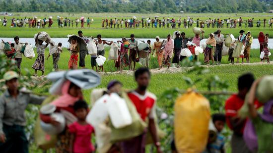 Millionen Euro Hilfen für Rohingya-Flüchtlinge zugesagt
