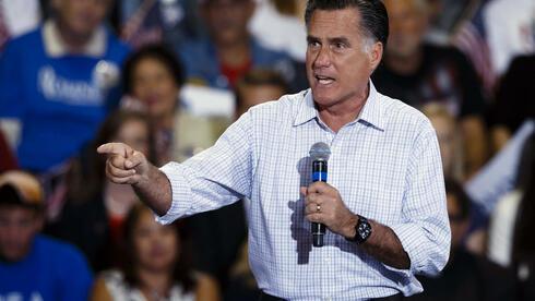 Mitt Romney bei einer Wahlveranstaltung in Ohio. Quelle: dapd