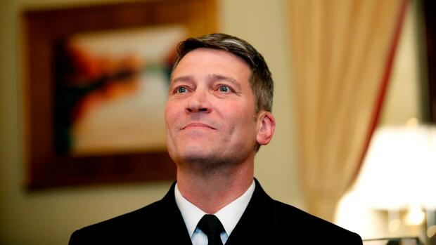Ronny Jackson: Möglichem US-Veteranenminister...