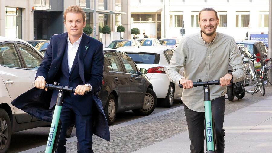 Tier Mobility hat bereits 32,4 Millionen Euro eingesammelt. Quelle: Tier Mobility