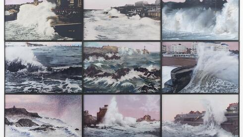 "Susan Hiller: ""Rough Dawns"", 2012, 9 archival colour dry prints, © Timothy Taylor Gallery, London Quelle: Timothy Taylor Gallery, London"