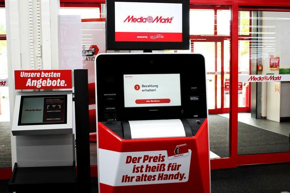 Media Markt testet Rückgabe-Automaten für gebrauchte Handys